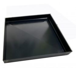 Teglia Forno 40x30x2 Cm, per Pizza Professionale Spessore teglie 8/10 TEGLIE IN FERRO BLU