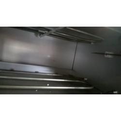 B1V - FORNO PER PIZZA 500° gradi INOX 1 PIZZA 40 CM - MONOFASE Home