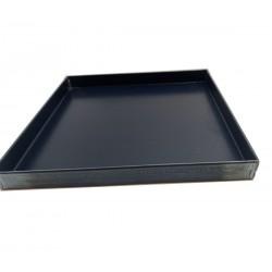 Teglia Forno 20x20x2 Cm, per Pizza Professionale Spessore teglie 8/10 TEGLIE IN FERRO BLU